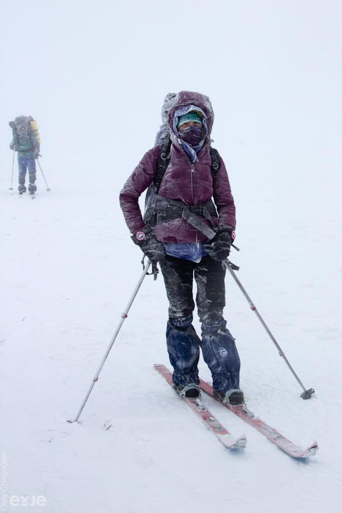Спуск с горы Нургуш