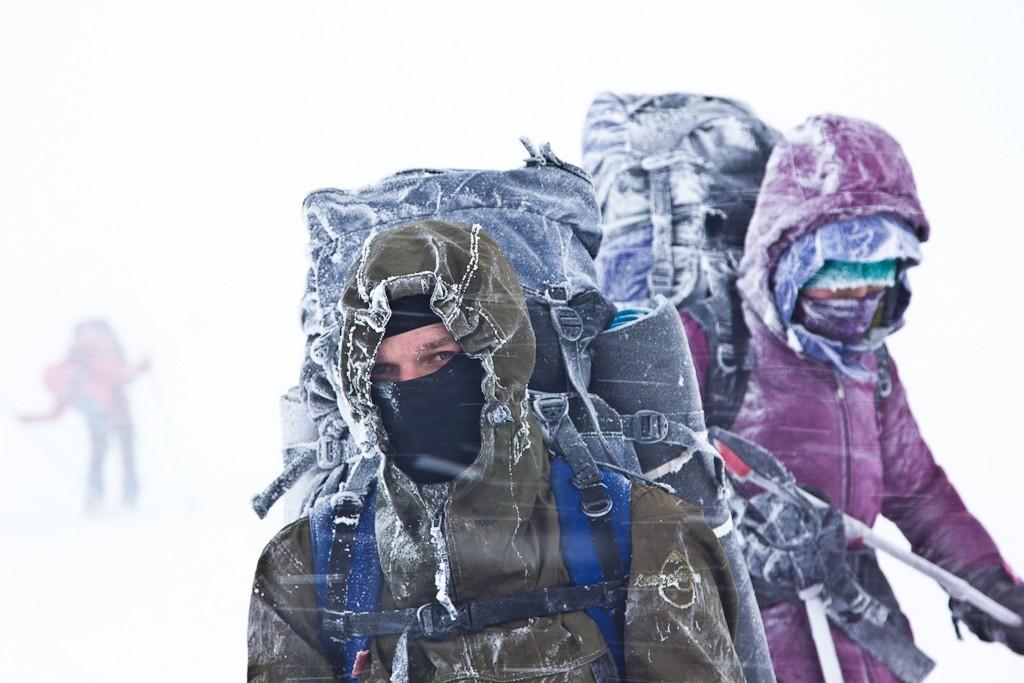 Плохая погода на вершине горы Нургуш
