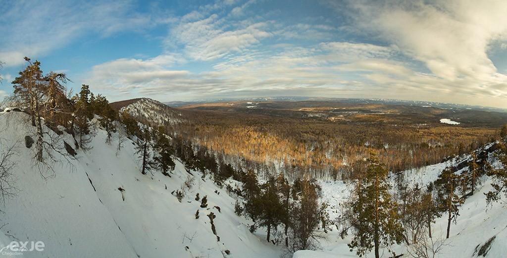 Хребет Малый Шатак, Южный Урал