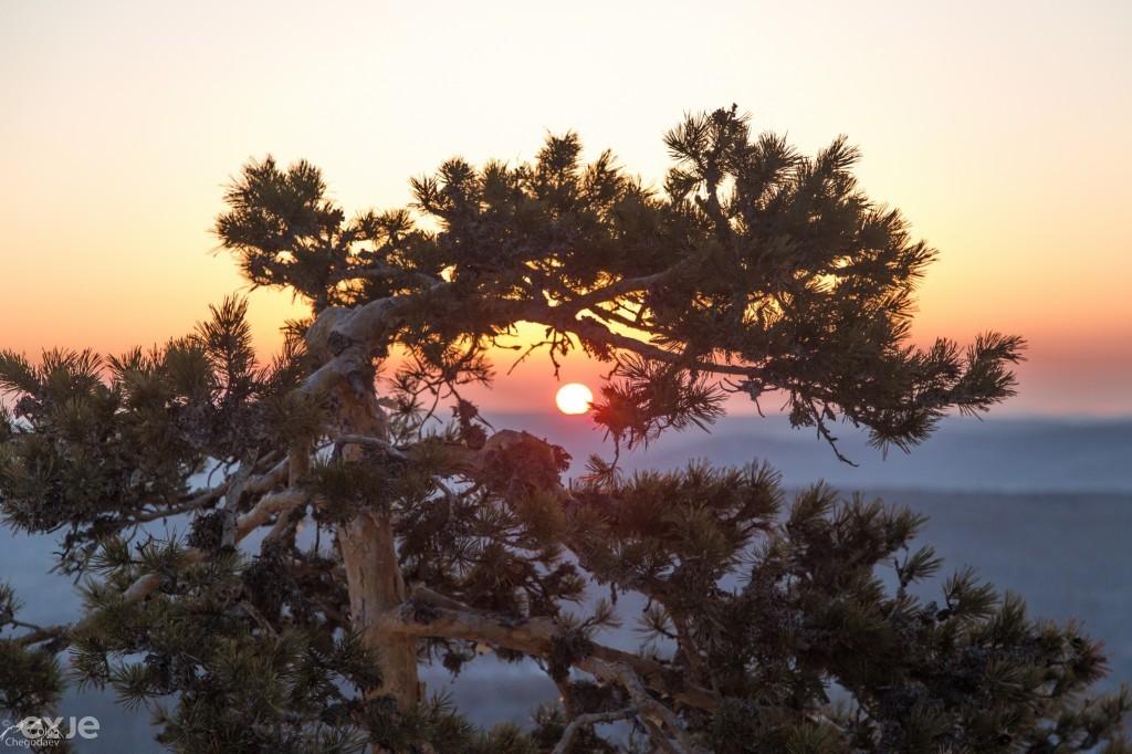 Восход на Южном Урале