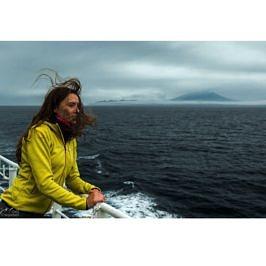 Остров итуруп с корабля полярис