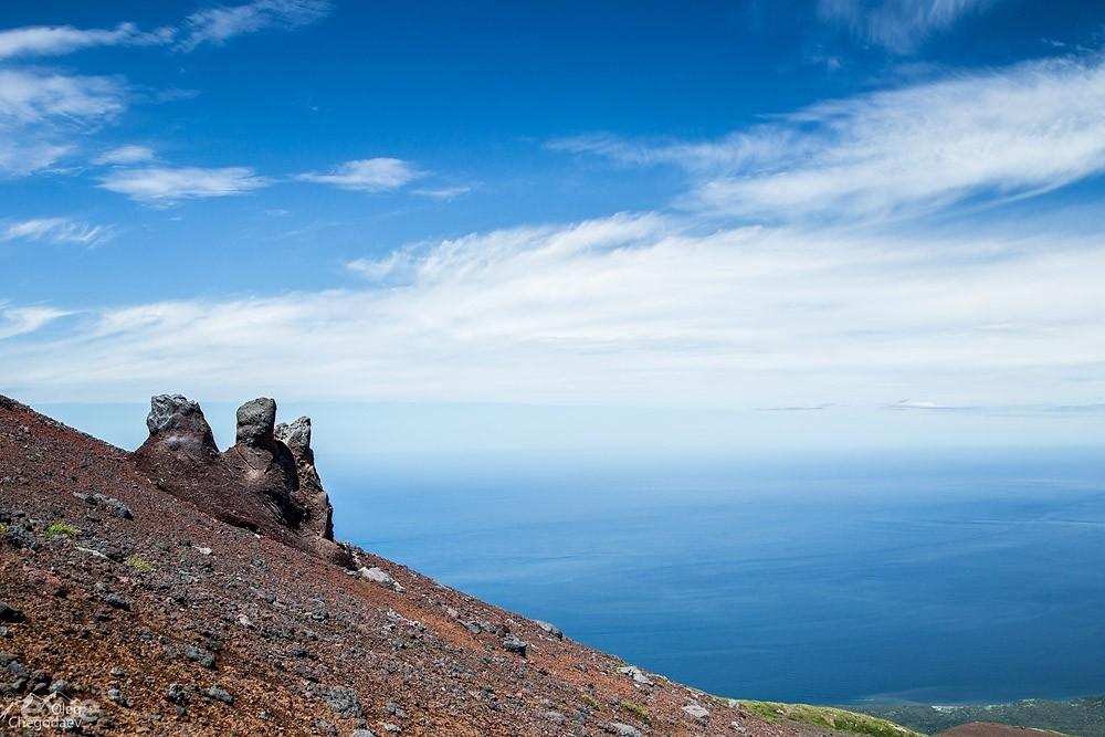 Конус вулкана Стокап