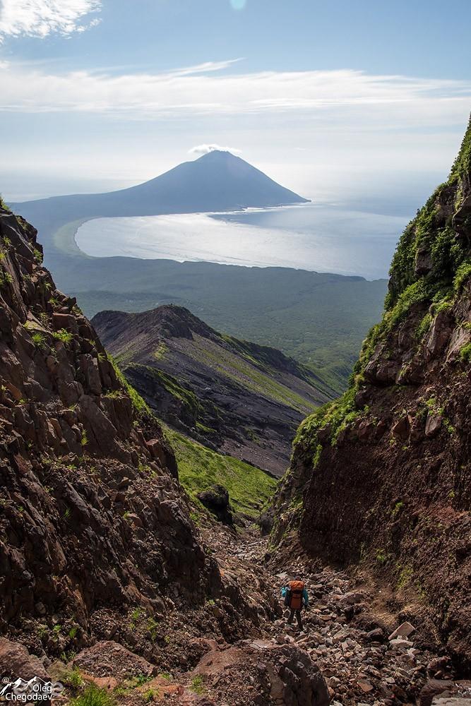 Ущелье ручья Кратерный. Вулкан Стокап