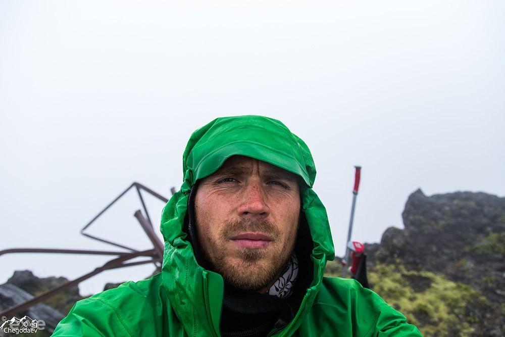 На вершине вулкана Атсонупури