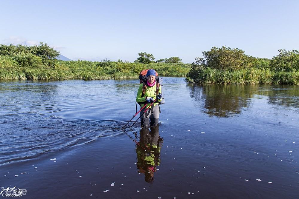 Река Тихая. Остров Итуруп