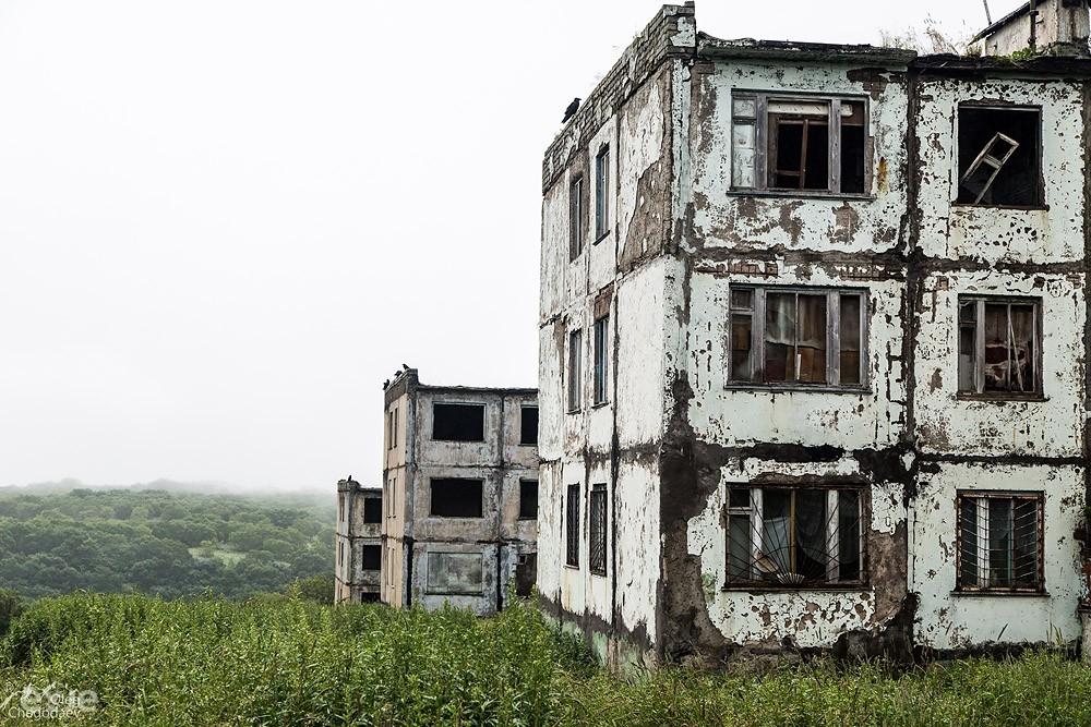 Поселок Горное. Остров Итуруп