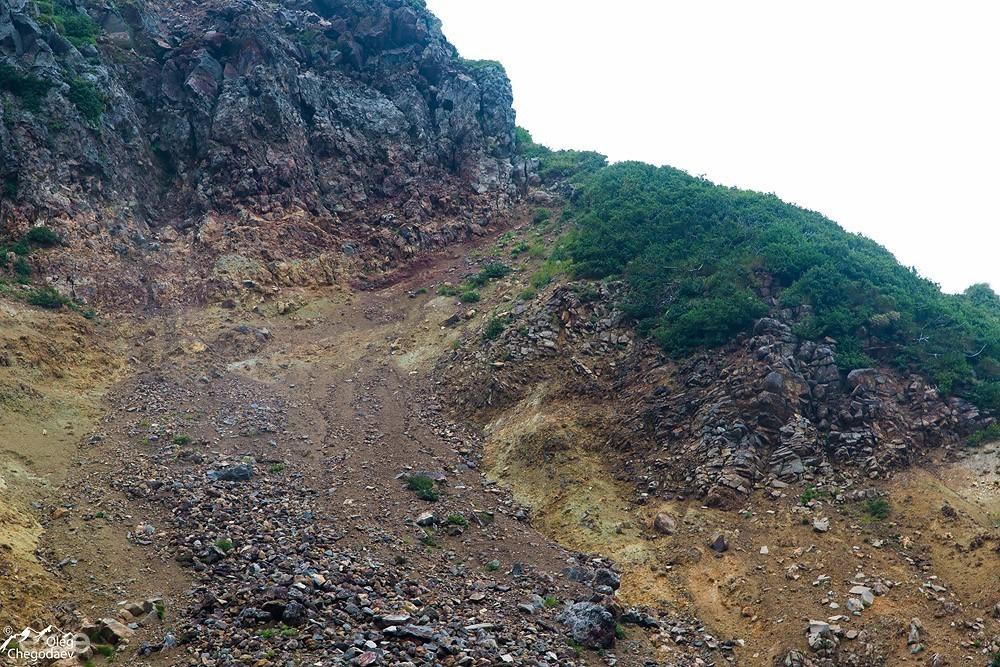 Остров Итуруп. Путь на гребень вулкана Богдан Хмельницкий