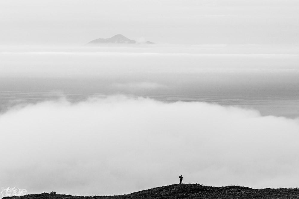 Вулканы Итурупа.