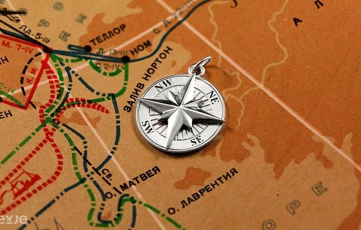 Подвеска компас
