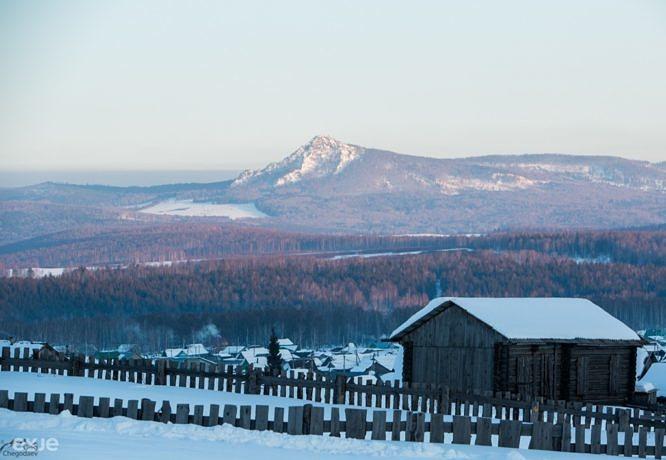 Гора АрвякРязь со склонов хребта Крака