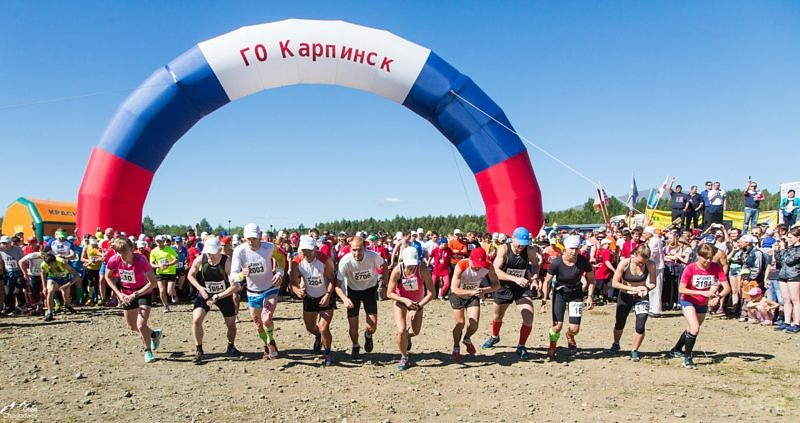 Старт горного марафона Конжак