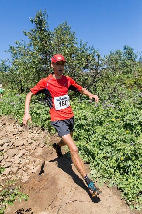 Юрий Штанков - призер горного марафона Конжак