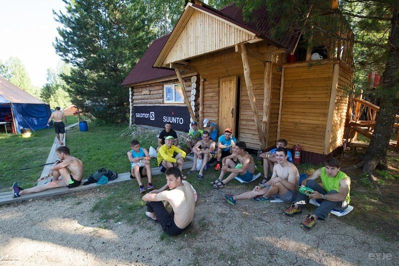 Участники Транс Урал 2016 ждут баню