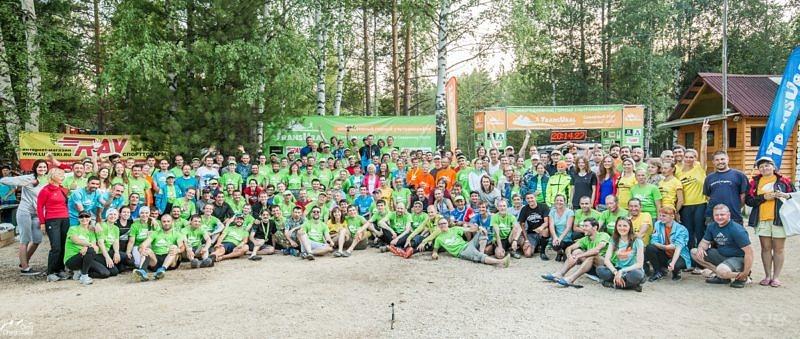 Участники гонки Транс Урал 2016
