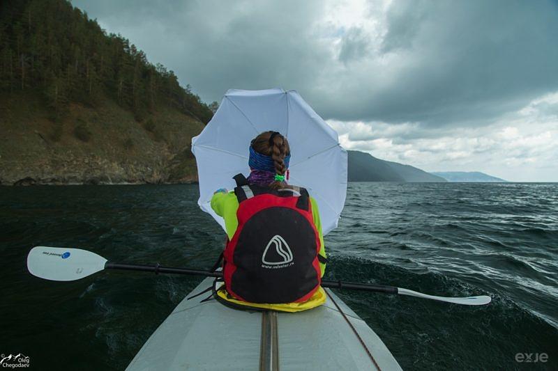Путешевствие по Байкалу на байдарке
