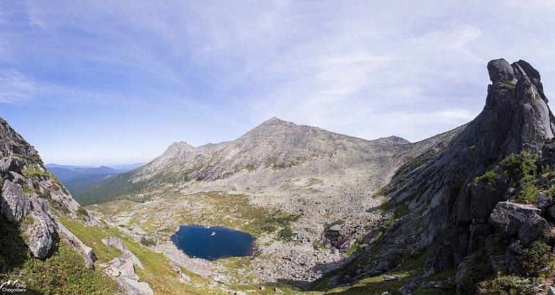 Озеро Сказка с одноименного перевала