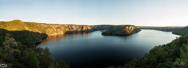 Юмагузинское водохранилище на рассвете