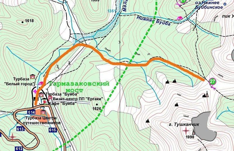 7 день Горный поход по природному парку Ергаки