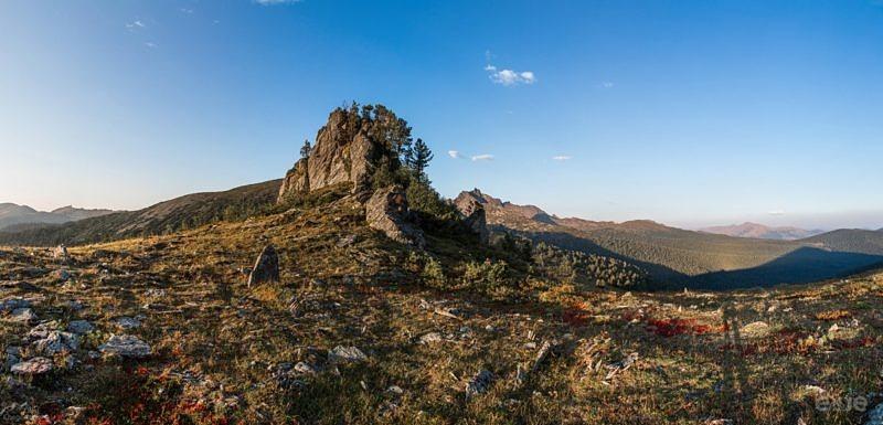 На перевале Тушканчик Ергаки