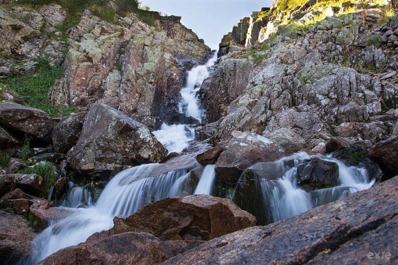 Водопад Богатырь, Ергаки