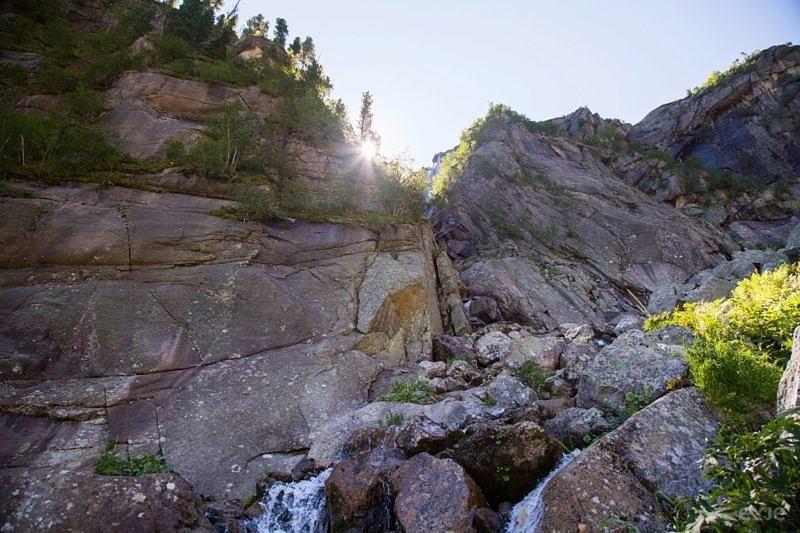 Водопад Грация, Ергаки.