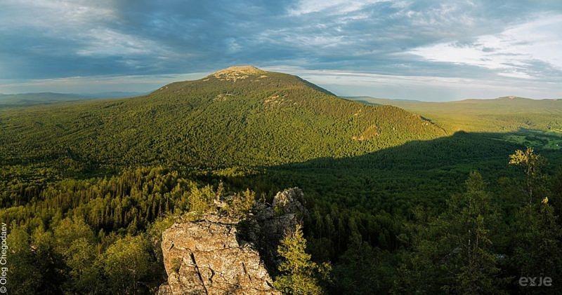 Гора Большой Шелом, хребет Зигальга