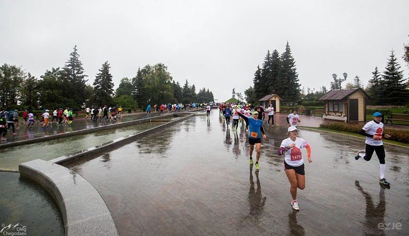 Участники Уфимского международного марафона
