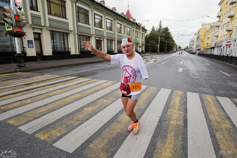 Участники Уфимского марафона