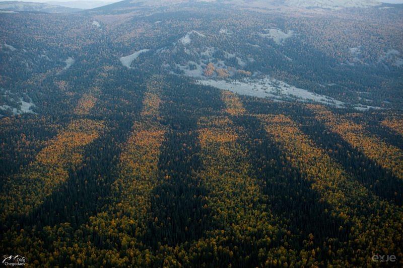 Юрюзаньская долина. Места вырубок
