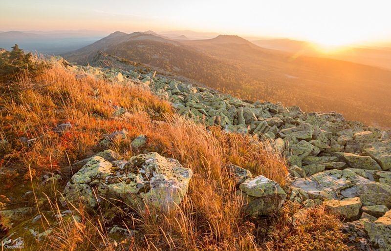 Восход над хребтом Кумардак