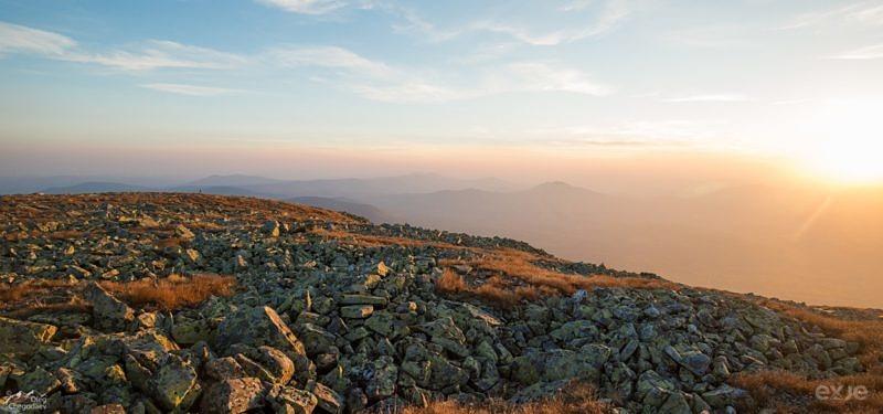 Рассвет с вершины Ямантау