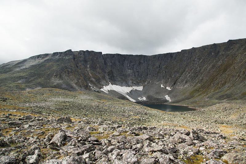Остатки ледника Балбан