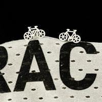 Серьги велосипеды