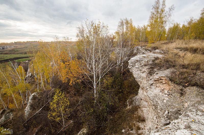 Карнизы на скалах урочища Бабайташ