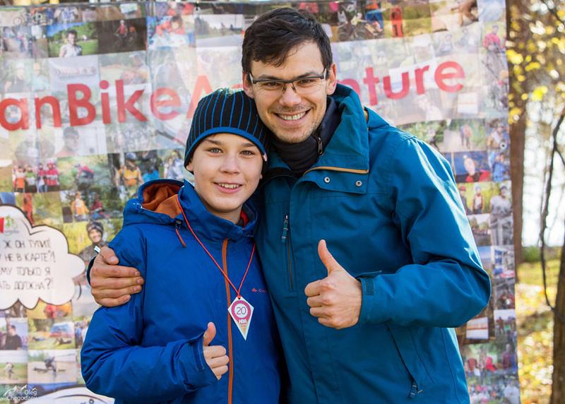 Алексей Болотов с сыном Тимофеем