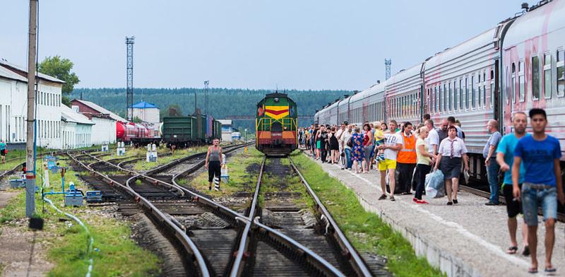Российские железные дороги объединяют Россию