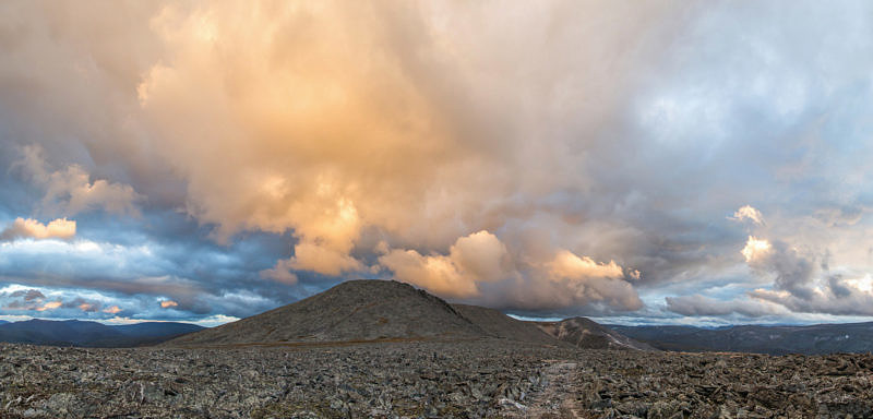 Гора Баркова 1320,8