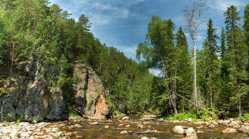 Река Катав, Южный Урал