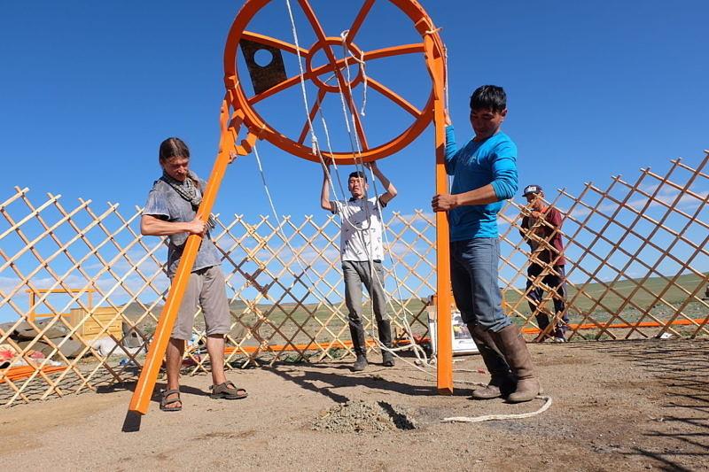 Экспедиция к Монголию