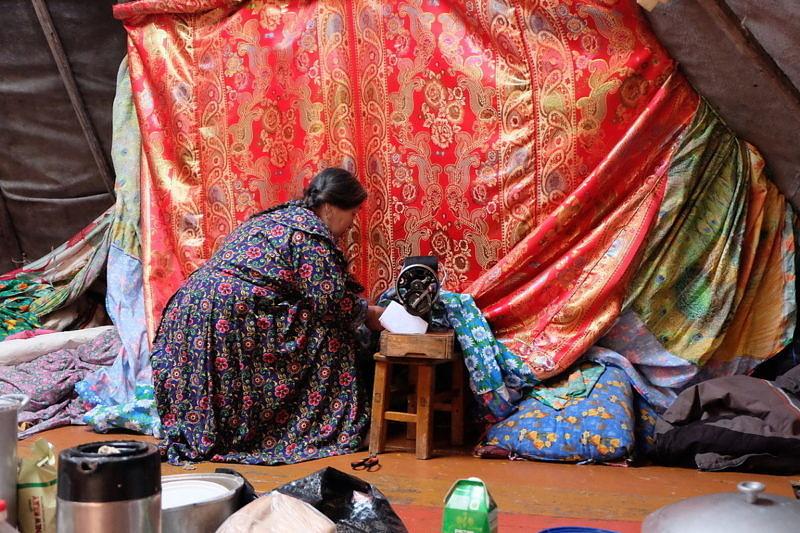 Повседневный труд женщины на Ямале