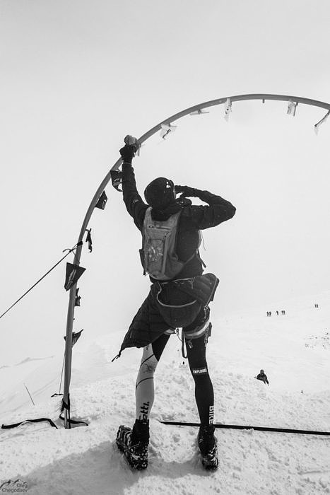 Финиш гонки Red Fox Elbruse race