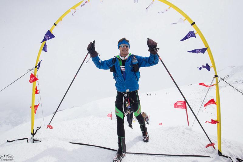 Один из призеров Red Fox Elbruse race 2016