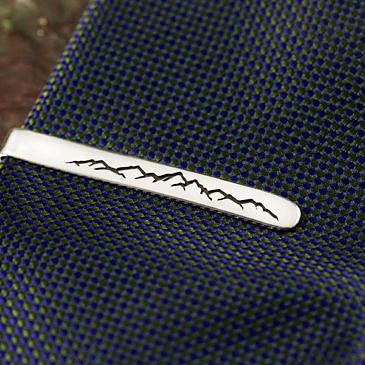Зажим для галстука горы
