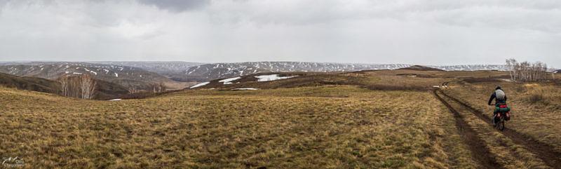Въезжаем на Сарынское плато