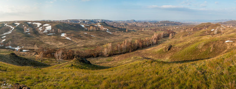 Юго-Западная оконечность Саринского плато