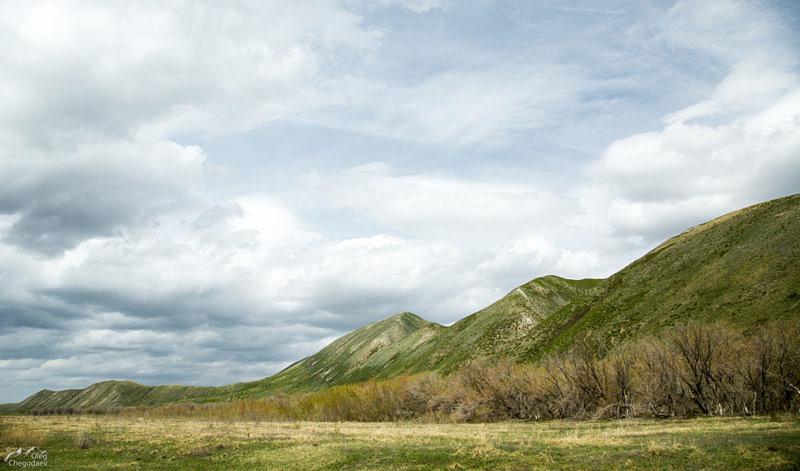 Хребет Карамурунтау с Запада