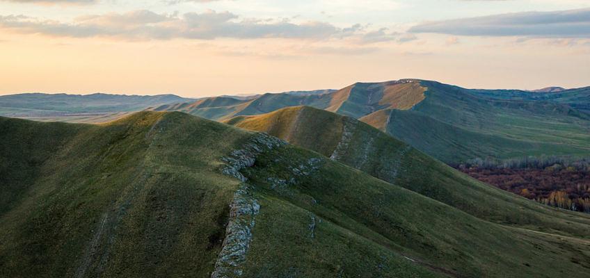 На волнах Карамурунтау. Отчет о весеннем велопоходе по Зилаирскому плато и хребту Карамурунтау. (карты +GPS track)