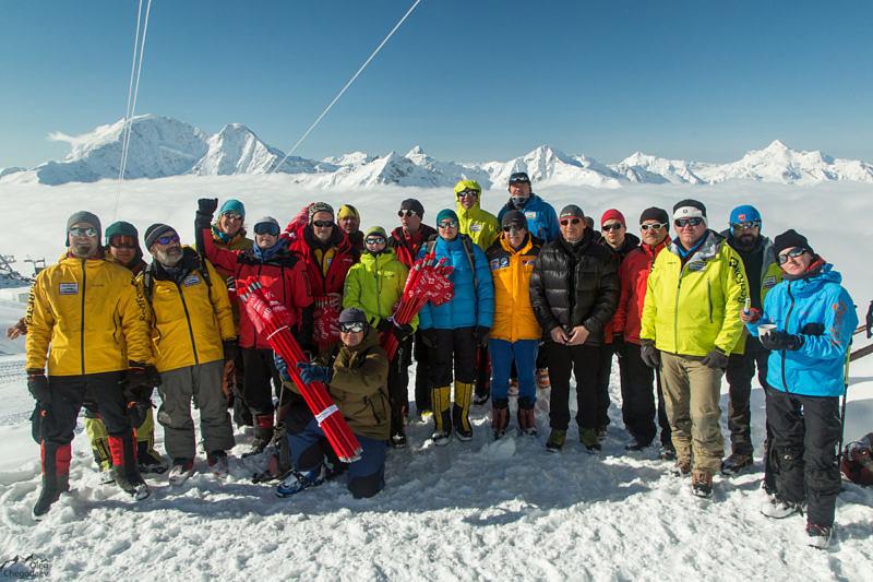 Команда высотных судей Res Fox Elbrus Race
