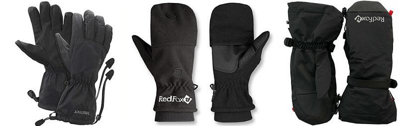 перчатки для восхождения на Эльбрус