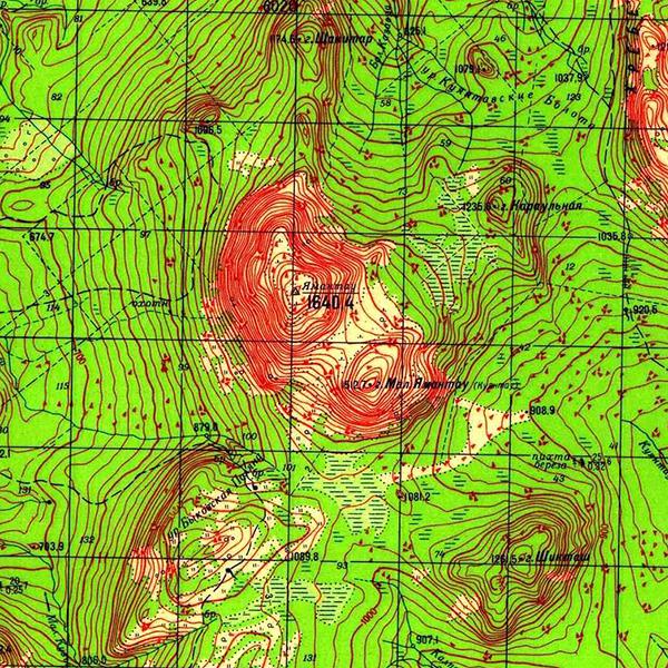 N-40-069 Гора Ямантау 1640,4